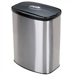 Nine Stars DZT-8-1C Stainless Steel 2.1 Gallon Touchless Trash Can