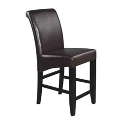 "Office Star MET8624ES 24"" Parsons Barstool"