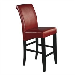 "Office Star MET8624RD 24"" Parsons Barstool"