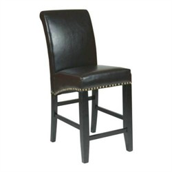 "Office Star MET8724ES 24"" Parsons Barstool"