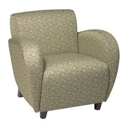 Office Star SF2471 Custom Fabric Club Chair