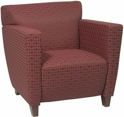 Office Star SF8471 Custom Fabric Club Chair