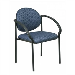Office Star STC3410 Stack Chairs with Arms