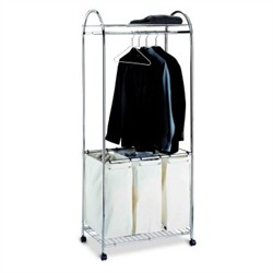 Laundry Center in Chrome Finish - Organize It All 1777