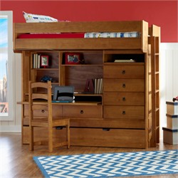 Wyatt Bunk Bed - Powell Furniture 14Y8073