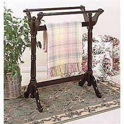 Heirloom Cherry Blanket Rack - Powell 441