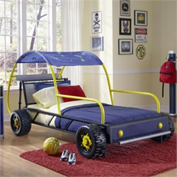 Dune Buggy Car Twin Bed - Powell 904-038