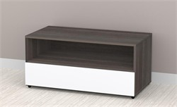 Allure 36'' TV Stand - 1 Open Shelf, 1 Drawer Nexera 221433