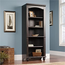 Harbor View Library in Antiqued Paint - Sauder 401633