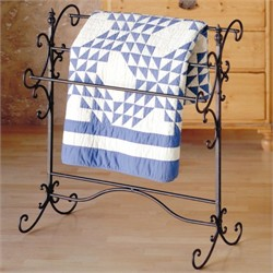 Metal Scroll Blanket Rack - Southern Enterprises GA5406R