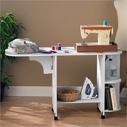 Sewing Table - White - Southern Enterprises OC9665R