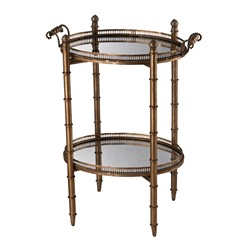 Tyrella Gold Tray Table  (Shipping Included) - Sterling Industries 6043717
