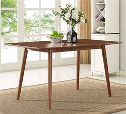 "60"" Mid-Century Dining Table - Walker Edison TW60MCAC"