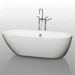 "Wynham WCOBT100071 Melissa 71"" Soaking Bathtub"