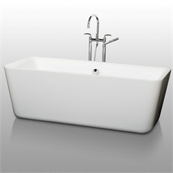 "Wyndham WCOBT100169 Emily 69"" Soaking Bathtub"