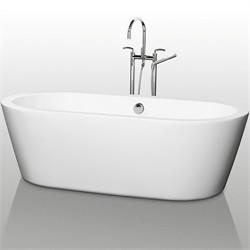 "Wyndham WCOBT100371 Mermaid 71"" Soaking Bathtub"