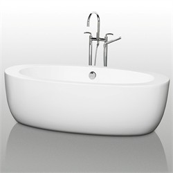 "Wyndham WCOBT100469 UVA 69"" Soaking Bathtub"