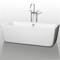 "Wyndham WCOBT100559 Laura 59"" Soaking Bathtub"