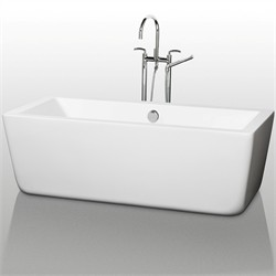 "Wyndham WCOBT100567 Laura 67"" Soaking Bathtub"