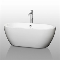 "Wyndham WCOBT100260 Soho 60"" Soaking Bathtub"