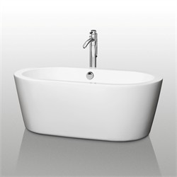 "Wyndham WCOBT100360 Mermaid 60"" Soaking Bathtub"
