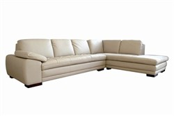 Baxton Studio Diana Beige Sofa/Chaise Sectional 625-M9818-Sofa