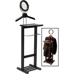 Valet Stand w/ Mirror - Winsome Wood 92055