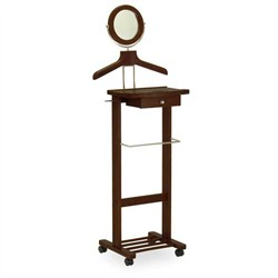 Valet Stand w/ Casters - Winsome Wood 94155