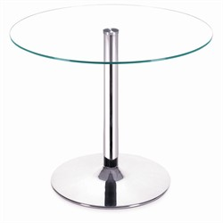 Galaxy Clear Round Dining Table  Zuo Modern 102151 (Shipping Included)