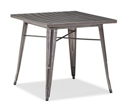 Olympia Dining Table Gunmetal- Zuo 109125 (Shipping Included)