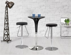 Soda Barstool Black - Zuo Modern 300250 (Shipping Included)