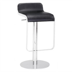 Equino Barstool in Black Finish Zuo Modern 301111 (Shipping Included)