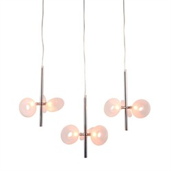 Twinkler Ceiling Lamp Chrome - Zuo Modern 50076
