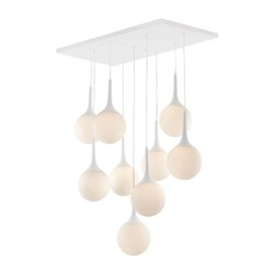 Epsilon Ceiling Lamp White - Zuo Modern 50088 (Shipping Included)