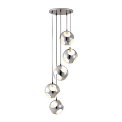 Meteor Shower Ceiling Lamp Chrome - Zuo Modern 50102 (Shipping Included)