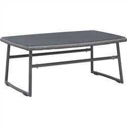 Ingonish Beach Coffee Table Grey - Zuo Modern 703531 (Shipping Included)