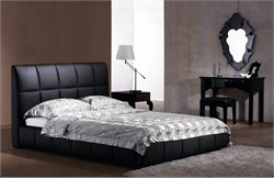 Amelie Bed Queen Black - Zuo Modern 800200 (Shipping Included)