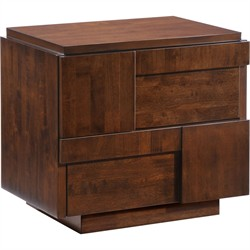San Diego Night Stand Walnut - Zuo Modern 800330 (Shipping Included)