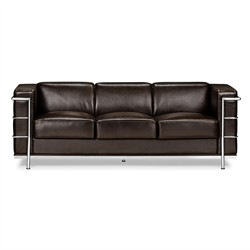 Fortress Sofa in Espresso Finish Zuo Modern 900232 (Shipping Included)
