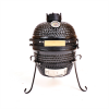 "13"" Ceramic Smoker Grill in Black - Kahuna KH-13B"