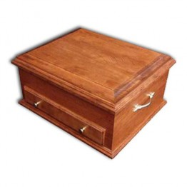Jewelry Chest Deluxe,Cherry Plain lid
