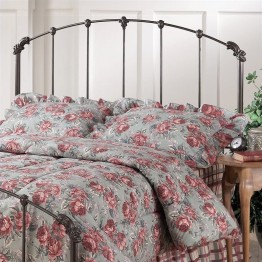 Hillsdale Bonita Spindle Headboard in Copper Mist-Full/Queen
