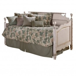 Hillsdale Wilshire Wood Daybed in  Antique White-Without Trundle