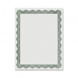 Geographics Blank Award Parchment Certificate (Set of 25)