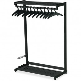 Quartet Two Shelf Garment Rack