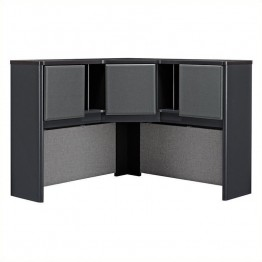 Bush BBF Series A 48W Corner Hutch in Slate