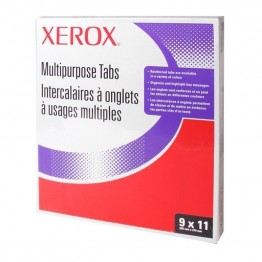 Xerox Straight Collated Copier Tab (Set of 250)