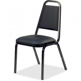 Lorell 8926 Upholstered Stacking Chair (Set of 4)