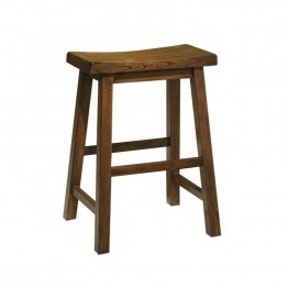 "Powell Furniture 24"""" Counter Stool in Honey Brown"