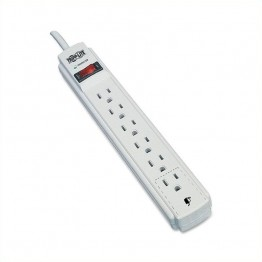Tripp Lite Protect It! TLP604 6-Outlets Surge Suppressor